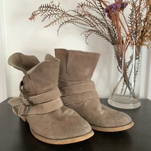 Urban Outfitters Slouchy Boots with Buckles